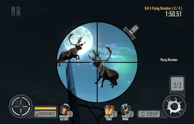 Merry Christmas, from the Deer Hunter 2014 holiday update. - http://videogamedemons.com/2013/12/17/merry-christmas-from-the-deer-hunter-2014-holiday-update/