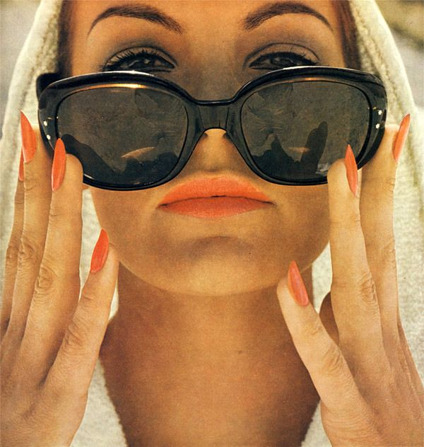 Dior vintage advertising #beauty #photography #nails ...