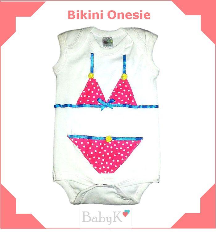 Bikini Onesie for summer from BabyK