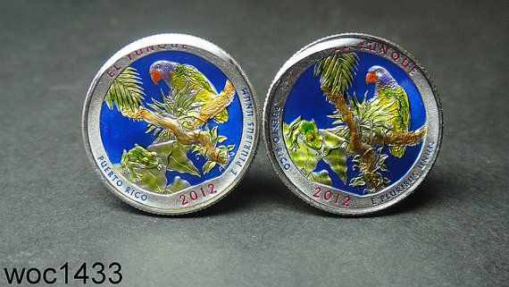 America the Beautiful Quarter El Yunque National Forest by wowcoin, $38.00