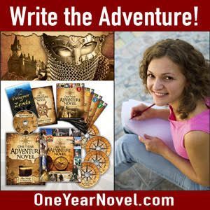 Get a high school English credit writing your own novel! The One Year Adventure Novel guides students (ages 13 and up), step by step, writing their own compelling, fully-structured adventure novel. Video-based, self-directed, and parent friendly!
