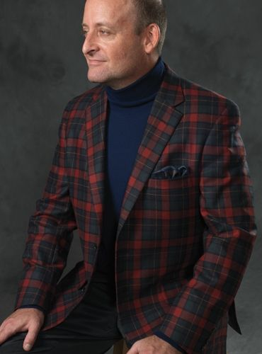 c97dd4ab14c Wool and Cashmere Sport Coat in Midnight Blue