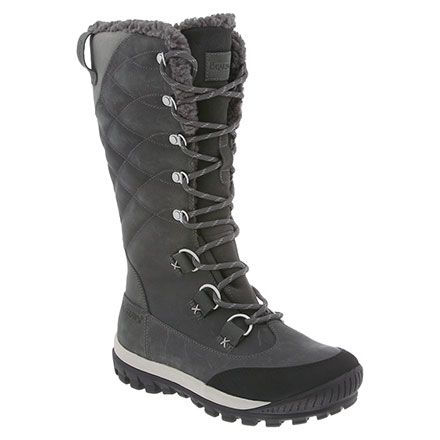 bearpaw isabella winter boots, my good ole' daddy-o got me these for winter! They are really good and warm. Takes a min to put on but my pants never got wet last year & still look brand new.