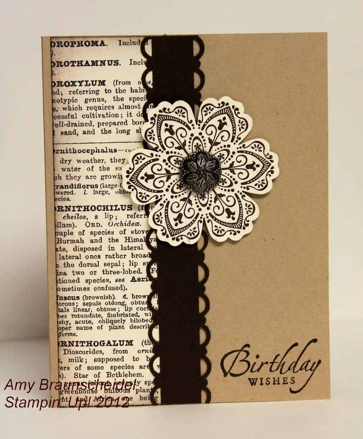 774 Best Cards With Kraft Paper Images On Pinterest