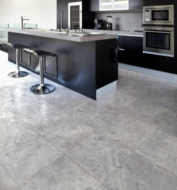 Grey Kitchen Grey Floor: Astro Grey Marble Kitchen Floor From Ca' Pietra.