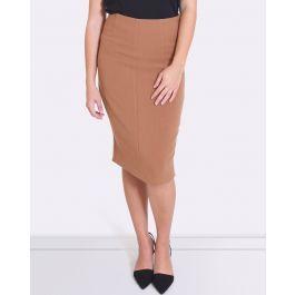 Donna Curved Hem Skirt