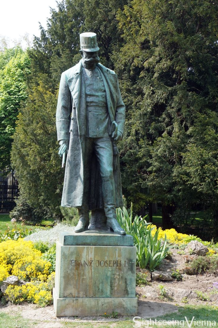 Monument Emperor Franz Joseph I of Austria, Burggarten, Vienna