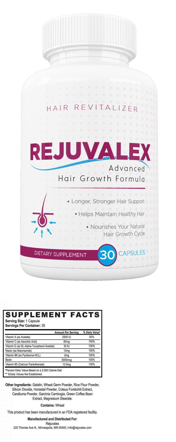 Hair Loss Treatments: Rejuvalex Advanced Hair Growth Formula, Hair Loss Help! Revitalizer! *Original* -> BUY IT NOW ONLY: $49.99 on eBay!