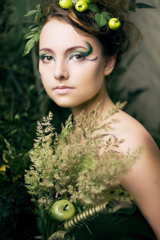 green fairy 2 by nareiel on deviantart - Fairy Halloween Makeup Ideas