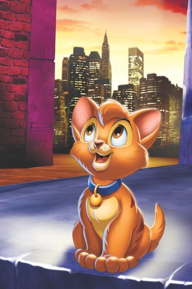 I named my first cat after Oliver, I loved this movie! I had Ollie for 13 years
