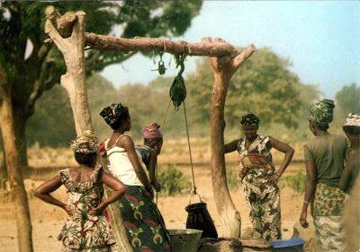 SENEGAL - Serer and Fula women in Saloum