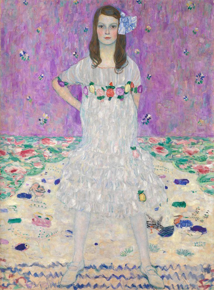 """クリムトが描いた「9歳の少女」誕生物語 """"自立した女性""""が描かれるまで"""
