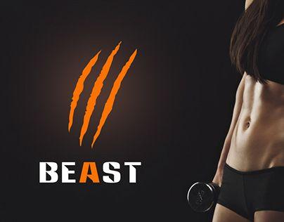 Beast - sportswear logo http://be.net/gallery/40672005/Beast-sportswear-logo
