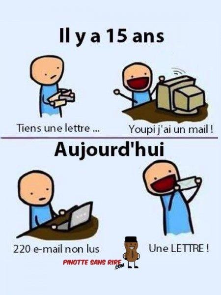 Préhistoire On considère souvent que l'histoire de l'email (ou courrier électronique) débute en 1965, à une époque ou Internet n'existait pas encore. C'est en effet durant cette année que furent mis en place les premiers échanges de messages entre utilisateurs sur des réseaux privés.