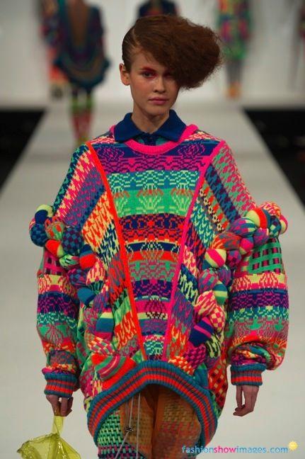 One of my faves from Graduate Fashion Week = Alison Woodhouse!!! #GFW De Montfort University Autumn/Winter 2012-13 London - Ready-To-Wear
