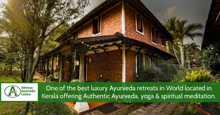 One of the best luxury #Ayurveda retreats in World located in Kerala offering Authentic Ayurveda, yoga & spiritual meditation. #TheAthreya #treatments #health #fitness #nature #meditation #peace #beauty #green #ayurvedic #yoga #calm #accommodations #fields #theathreya