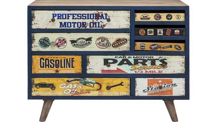 Commode vintage pour hommes - Garage - Kare Design