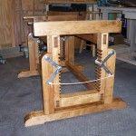Adjustable Height Workbench Lenny Lumberjocks Work Bench Height