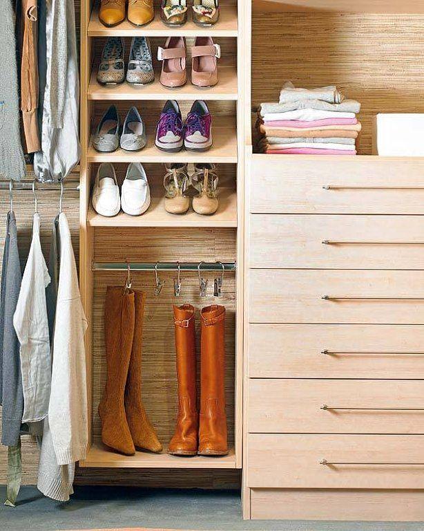 Cómo guardar los zapatos   Decorar tu casa es facilisimo.com
