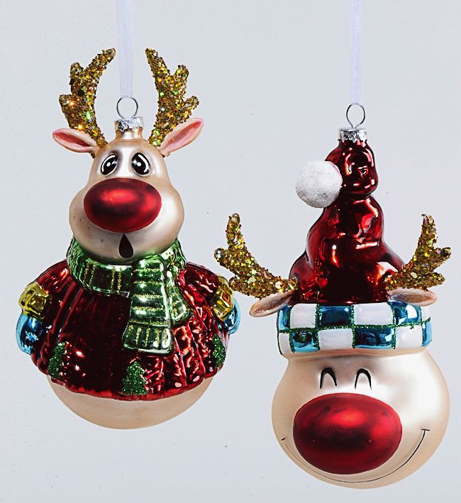 """Елочная игрушка """"Рождественский Олень"""", 15 см"""