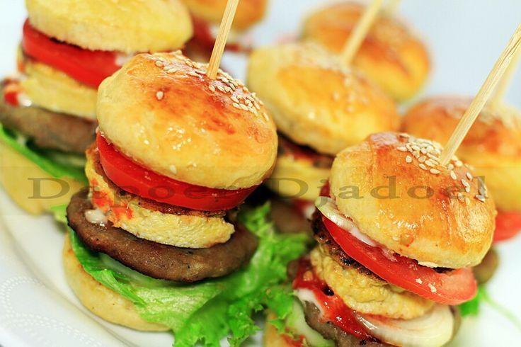 Mini Beef Burger