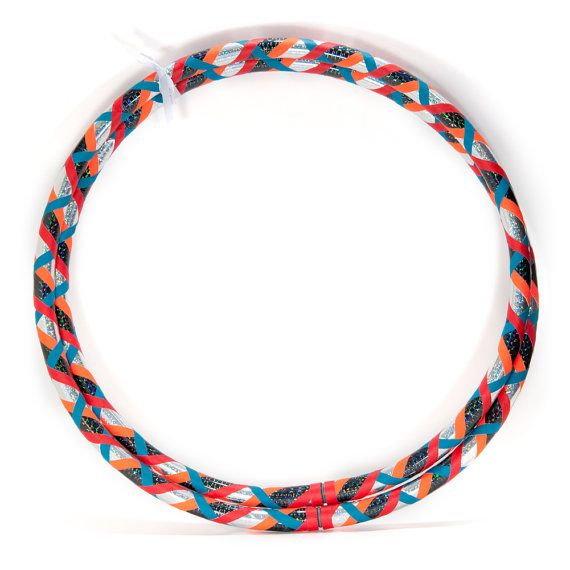 Custom Infinity HDPE Beginner Dance Hula Hoop - Urban Tiger