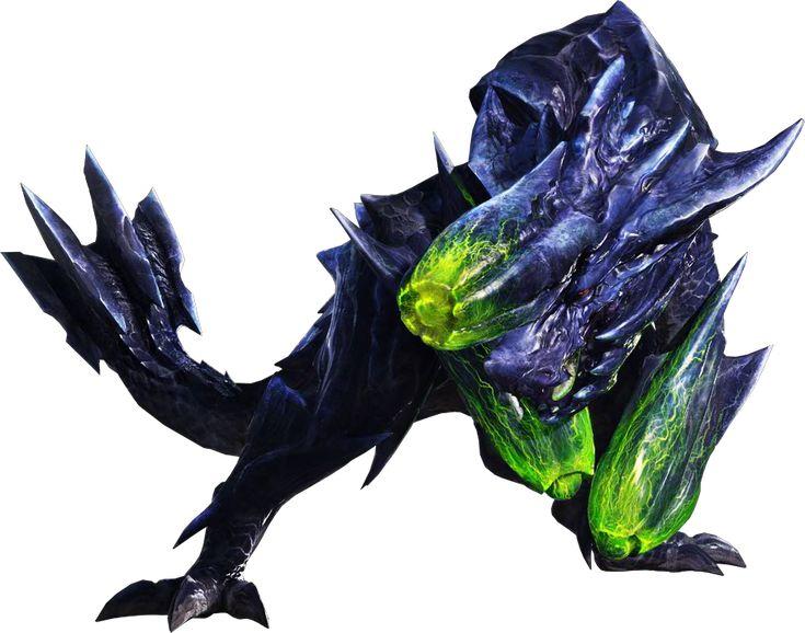 Monster Hunter 3 Ultimate Brachydios | MH4-Brachydios Render 001
