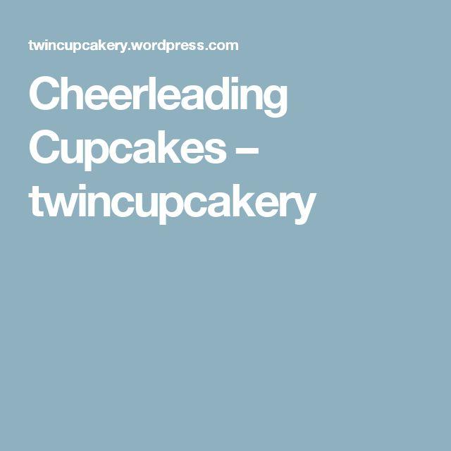 Cheerleading Cupcakes – twincupcakery