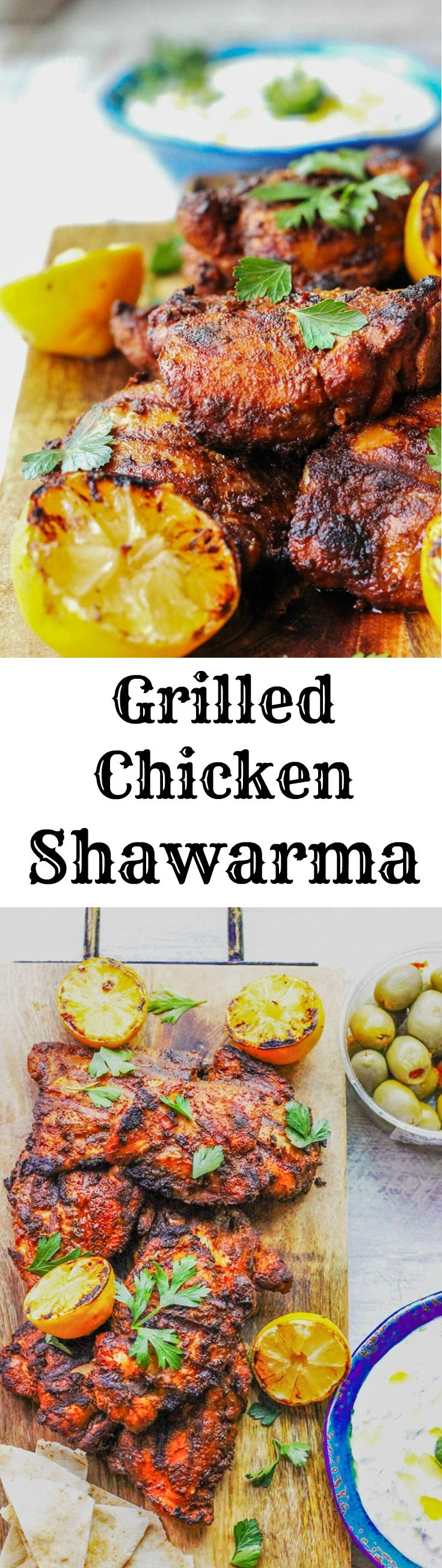 "Grilled Chicken Shawarma is an amazing dish of Middle Eastern flavors that comes together super quick, smells divine and disappears from plates in seconds. Try this chicken recipe, full of fragrant spices, for your next BBQ and you'll surely ""wow"" all your guests."