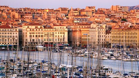 The port of Marseille