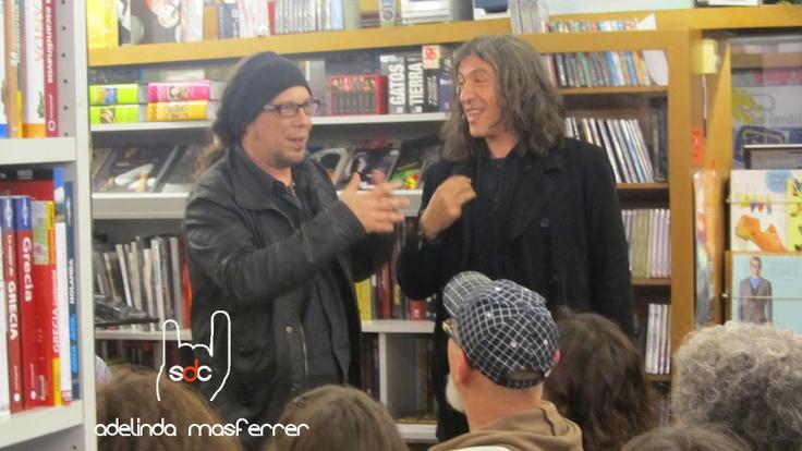 Gerard Quintana i David Julià en un moment de la presentació