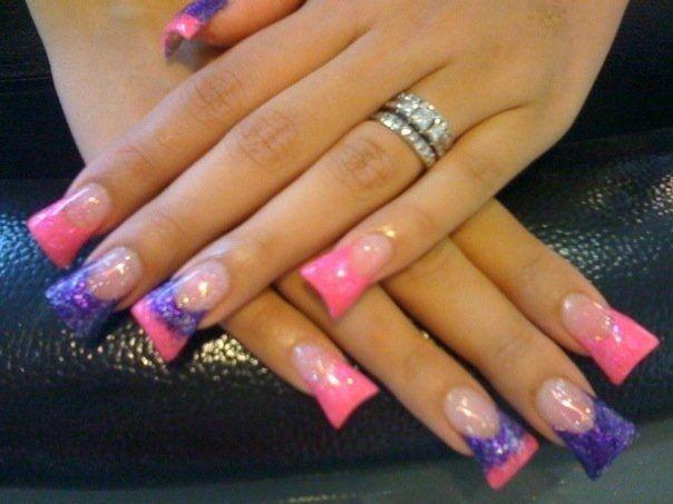 Pink and Purple Controversy by Tommygirl - Nail Art Gallery nailartgallery.nailsmag.com by Nails Magazine www.nailsmag.com #nailart