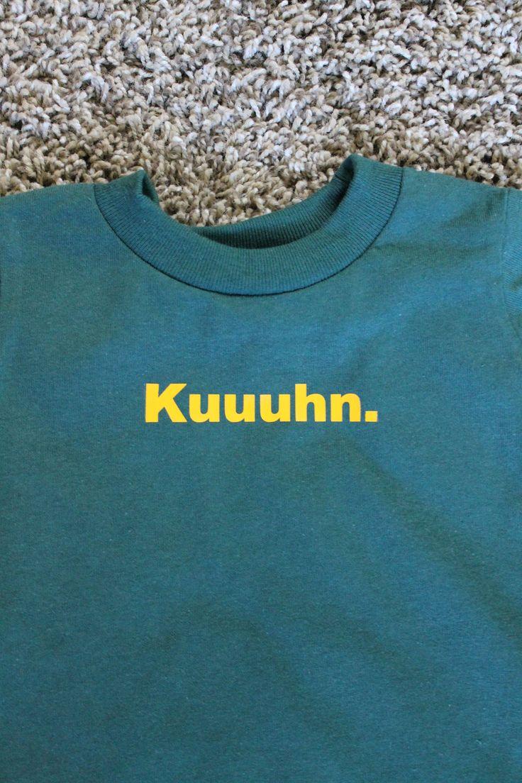"Green Bay Packers - ""Kuuuhn.""."