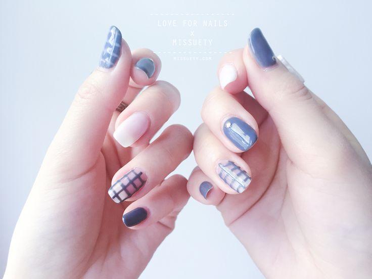 Best korean nail art : Best korean nails ideas on nail art chic