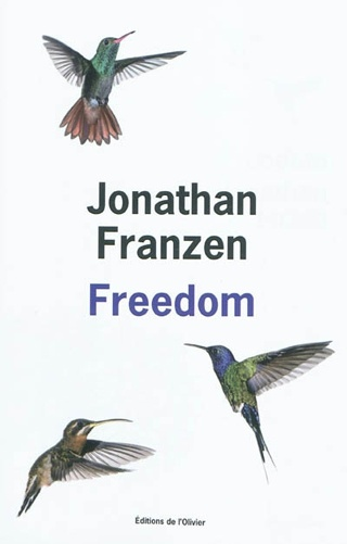 Freedom - Jonathan Franzen  Best fictional book read in 2012.
