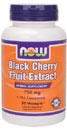 BLACK CHERRY FRUIT EXTRACT 750MG - 90 VCAPS      BLACK CHERRY FRUIT EXTRACT 750 MG FROM NOW FOODS. Wild black cherries are native to North American where they were widely used for their therapeutic properties. This high potency concentrated 10:1 extract is rich in flavonoids, calcium, potassium, lignins, and more. Black cherry fruit is often recommended by natural doctors to help relieve the symptoms of gout (a common type of arthritis) by neutralizing elevated levels of uric (read more)....