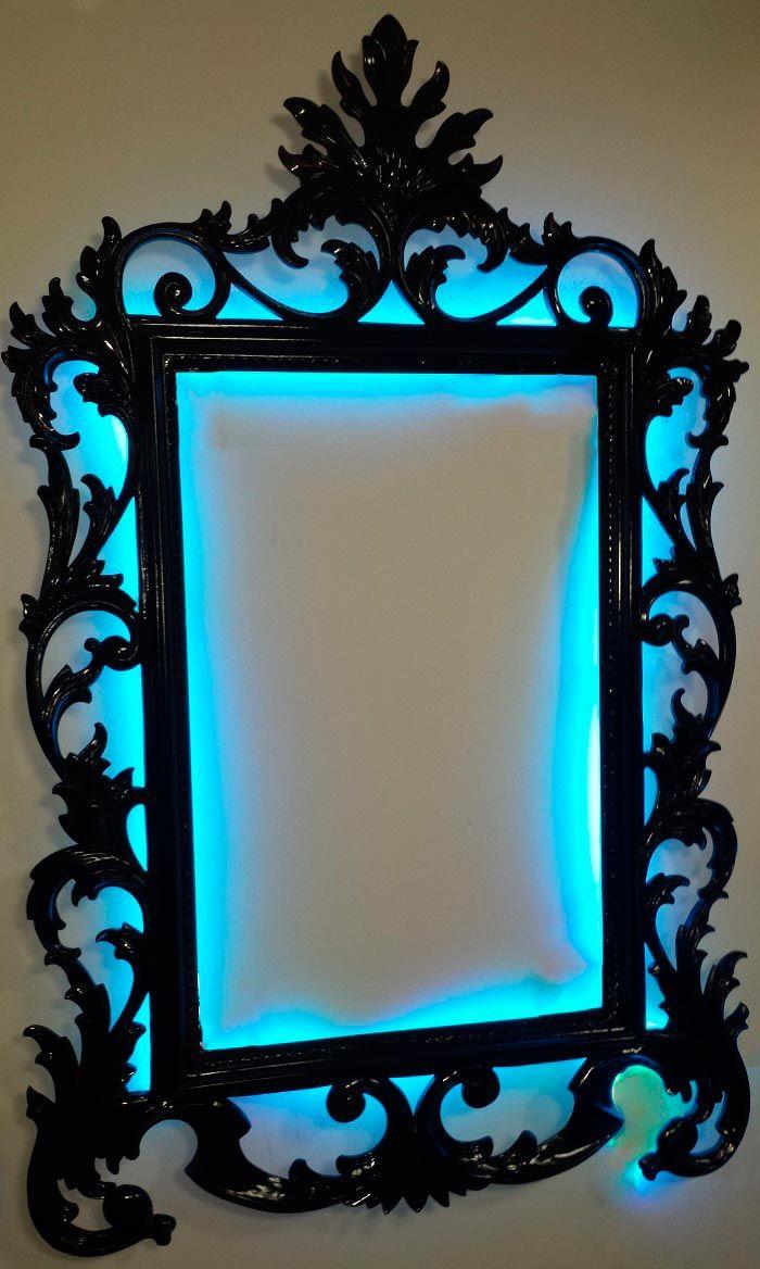 8 best images about marcos y espejos artesanos con luz on for Marcos y espejos