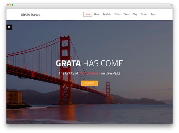 grata - theme for business