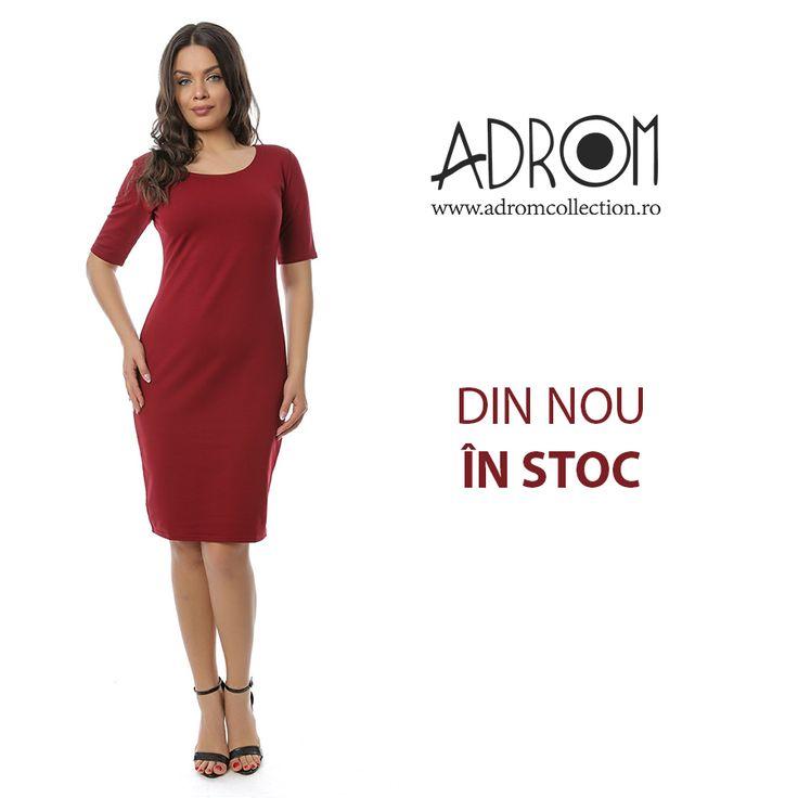 Rochia R262 este cea mai bine vândută rochie marca Adrom Collection. De o simplitate deosebită, aceasta este ideală pentru sezonul actual.  Ea a revenit astăzi în stocul nostru și o poți comanda simplu și ușor, direct de aici:http://www.adromcollection.ro/711-rochie-angro-r262-2.html
