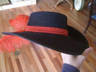 TrulyHatBlog: Two Cavalier hats, and my budding designer