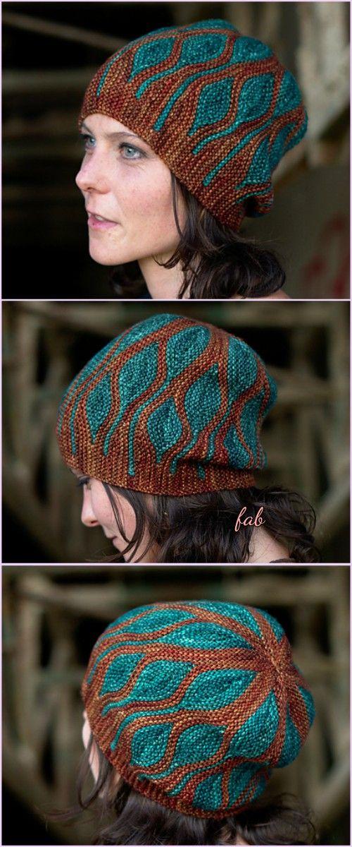 Knit Elemental Toph Beanie Hats Pattern