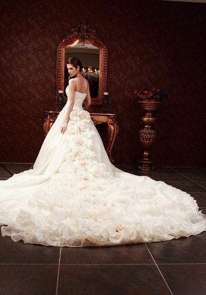 The 363 best images about Over The Top Wedding Gowns on Pinterest ...