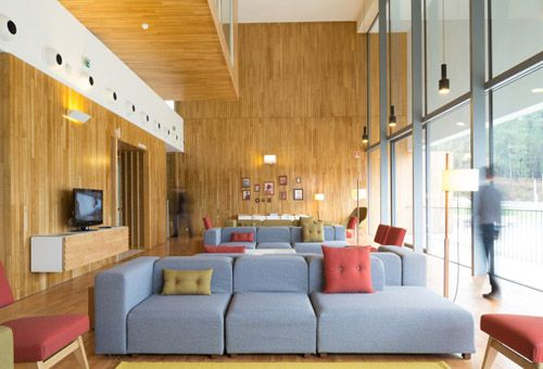 1000 images about hoteles en pinterest natural toscana y hoteles de lujo - Deco lounge eetkamer modern ...