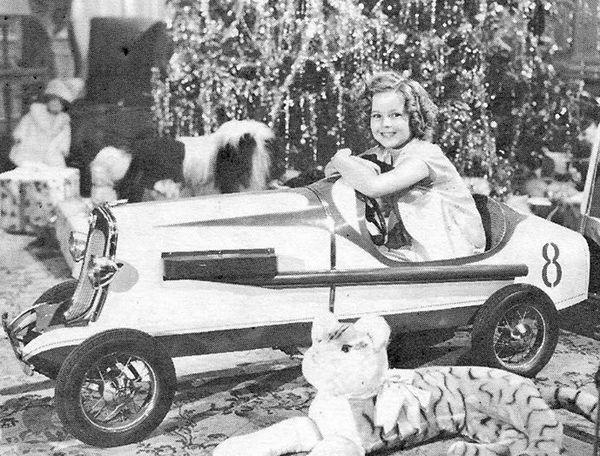 Shirley Temple, Christmas 1936.