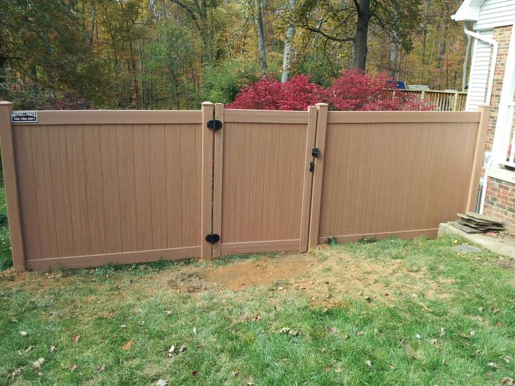 51 Best Vinyl Fence Images On Pinterest Fence Ideas