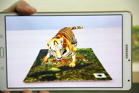 Tiger cards printable cards kids games games for by OrangeKiteLabs