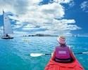 Kayaking near Auckland