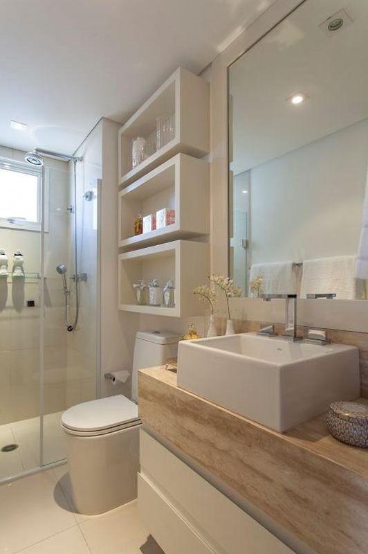 +1000 ideias sobre Pequenos Banheiros De Casas De Campo no Pinterest  Banhei -> Banheiro Pequeno Solucões