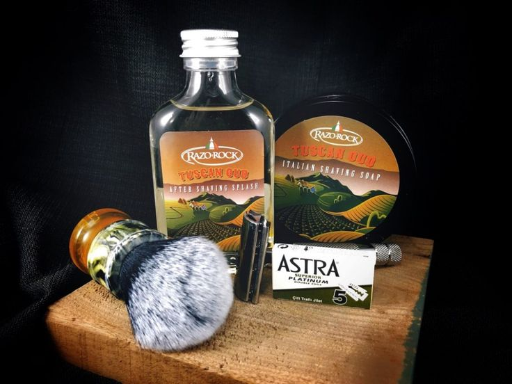 #SOTD #wetshaving #shavelikegrandpa Razor: Rockwell 6c on 2 Blade: Astra Green Brush: Yaqi Synthetic Soap: RazoRock Tuscan Oud Aftershave: RazoRock Tuscan Oud