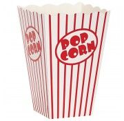 Popcorn Party Boxes - to go with the popcorn machine, of course!